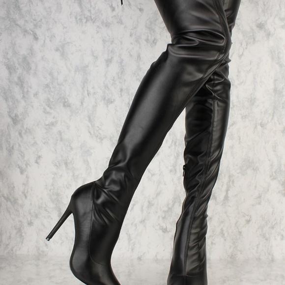 d8b550a8421 LILIANA Gisele Over-the-Knee Boot
